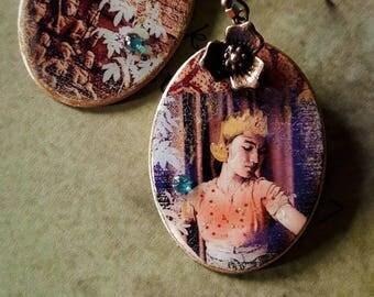 ethnic earrings Burma