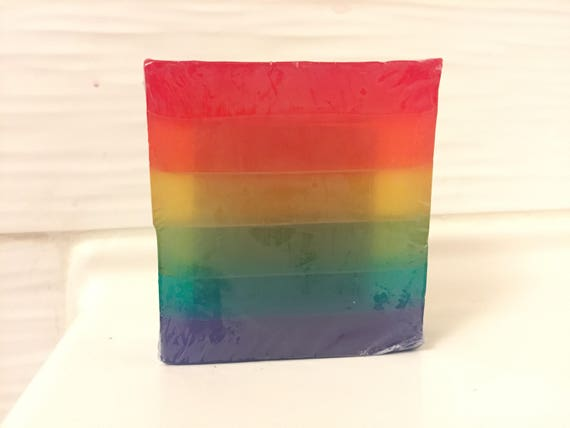 Love is Love glycerin soap