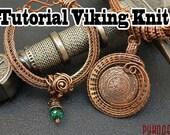 Wire Wrap tutorial PDF. Vikinq Knit.