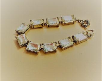 Vintage Crystal Viellies stones bracelet