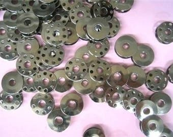 30 Metal Bobbins For Industrial Single Needle Sewing Machines #40264NS