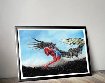 Spiderman vs vulture