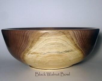 Black Walnut Bowl #1