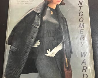Montgomery Ward catalog catalogue vintage fashion 1962 fall winter