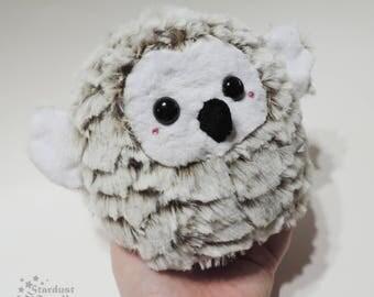 Snowy Owl Plush Chibi Kawaii No. 2