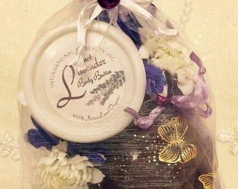 Lavender Soap Moisturizer Gift Set