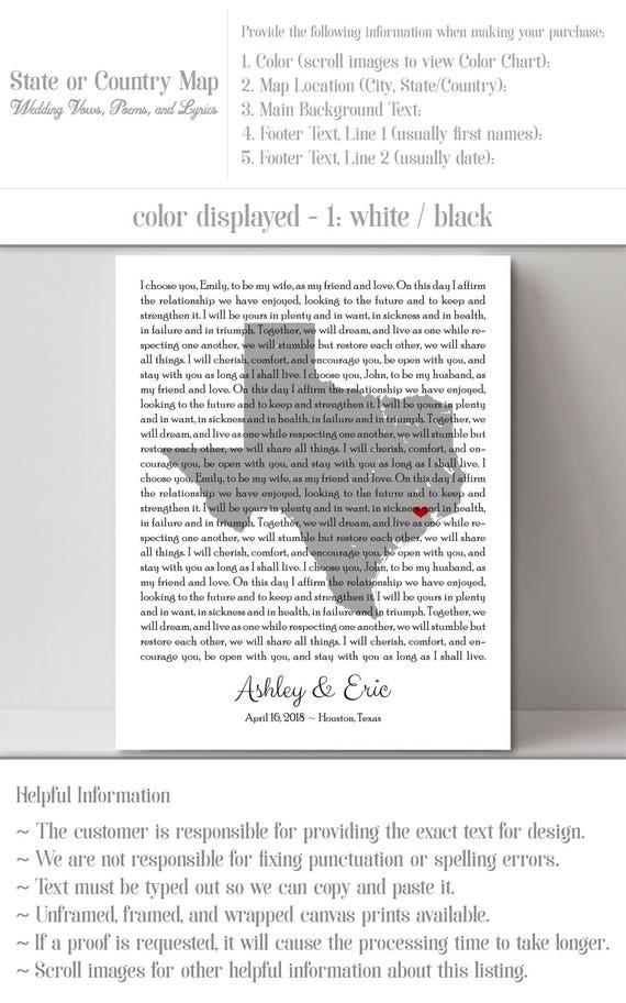 Lyric songs about texas lyrics : Wedding Song Print Wedding Song Lyrics Print Custom Song