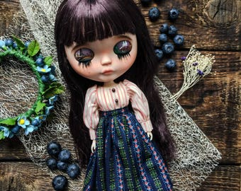 Custom Blythe Dolls For Sale by Sale % Custom Blythe doll Goodbye Paris
