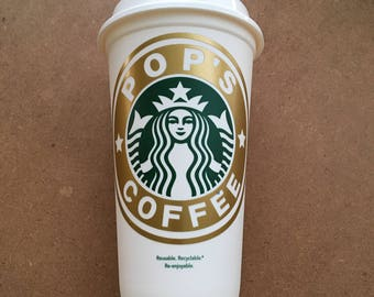 Personalized Name for Starbucks Coffee Cup