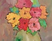 Original floral Red flowe...