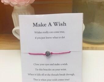 Silver Heart Wish Bracelet