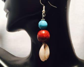 Cowry Shell Earrings