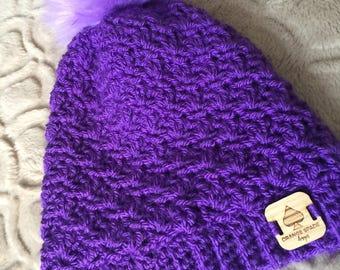 Purple Newcastle Beanie