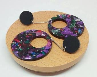 Laser cut acrylic earrings // Dangle Earrings // Stud Dangles // Drop Earrings