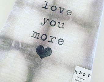 love you more...