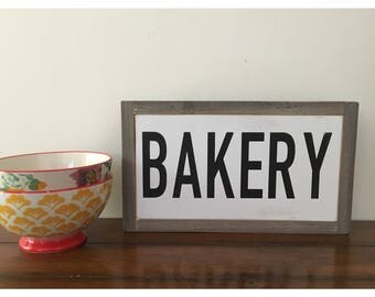 Bakery ll quote sign