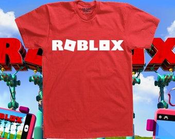 Roblox, gamer, tops and tees, cosplay, gamer shirt, clothing