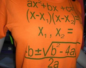 Quadratic Equation Tee
