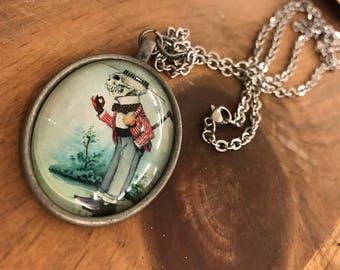 Vintage Skeleton Collection: Handcrafted Necklaces