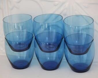 6 Vintage Blue Glasses-Free Post