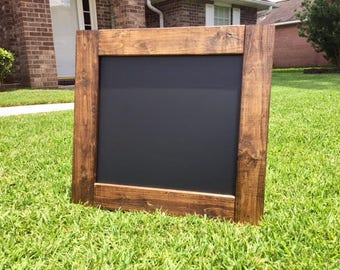 Chalkboard / Framed Chalkboard / Chalkboard Background / Wedding Chalkboard Welcome Signs / Rustic Chalkboard Large / Rustic Chalkboard
