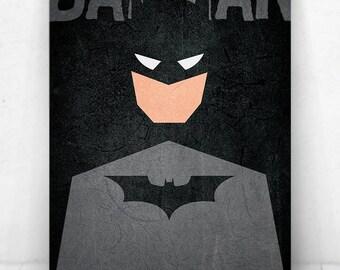 Batman Poster - Illustration  / Batman Poster / Batman / The Dark Knight