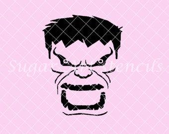 Avengers Hulk Stencil  Nb1436
