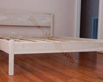 FULL PLATFORM BED (with headboard)