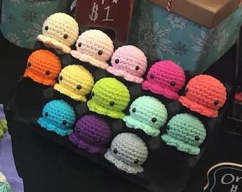Baby crochet amigurumi squshies