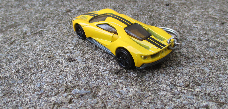 Ford Gt Keychain Le Mans Race Car  Cast Keychain Car