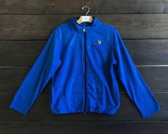 Vintage 90s Fila Fleece Jacket
