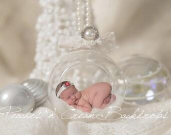 Digital Backdrop - prop for newborn photography - Christmas