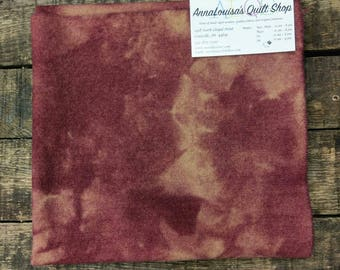 Hand-dyed Wool Fat Quarter -- Aged Plum -- FQ8763