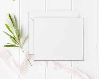 "25 5x7 White Matte Envelopes - A7 size envelopes - (true size 5 1/4"" x 7 1/4"") - A7 White Matte Envelopes"