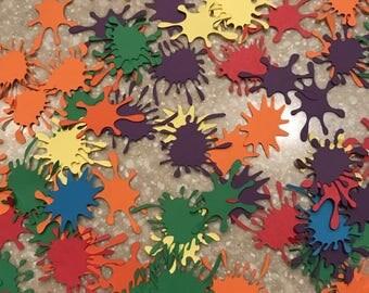 Paint Splatter Confetti
