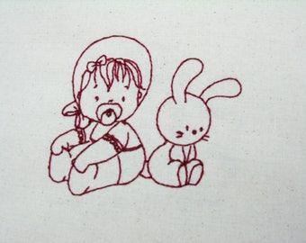 Baby Sunbonnet 003 4x4