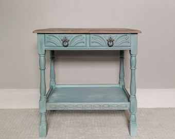 Blue Tone Console Table - Cheshire Cat Collection