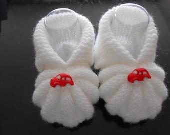 slippers woolen baby 0-3 months