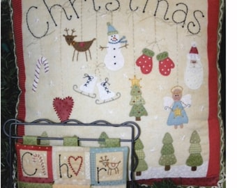 Christmas Pillow and Quilt Kit