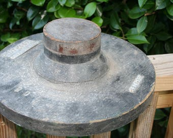 Wood Textile Mill Part , Upcycle, Re-Purpose Piece , Lamp Base , Table Base