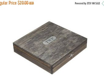 10% OFF Engraved Cigar Box, Personalized Cigar Box, Groomsmen Gifts, Wedding Gift From Bride, Custom Cigar Box, Groomsmen Presents
