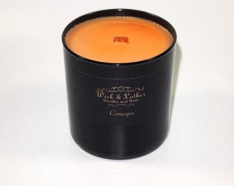 Cornucopia, Candle, Candle, Candle Tumbler, Soy Candle, Candles, Scented Candle, Scented Candles, Wood Wick Candle, Soy Wax, Glass Candle