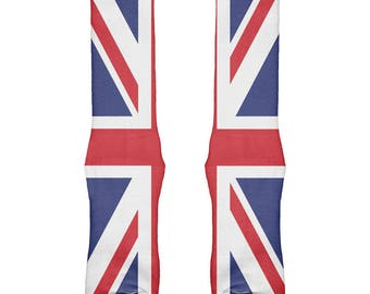 British Flag Union Jack All Over Soft Socks