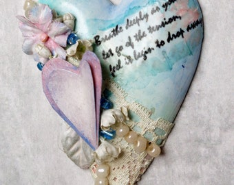 Affirmation Ornament with Pearls