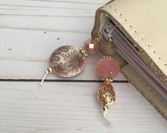 Planner Bookmark- Pink Dogwood