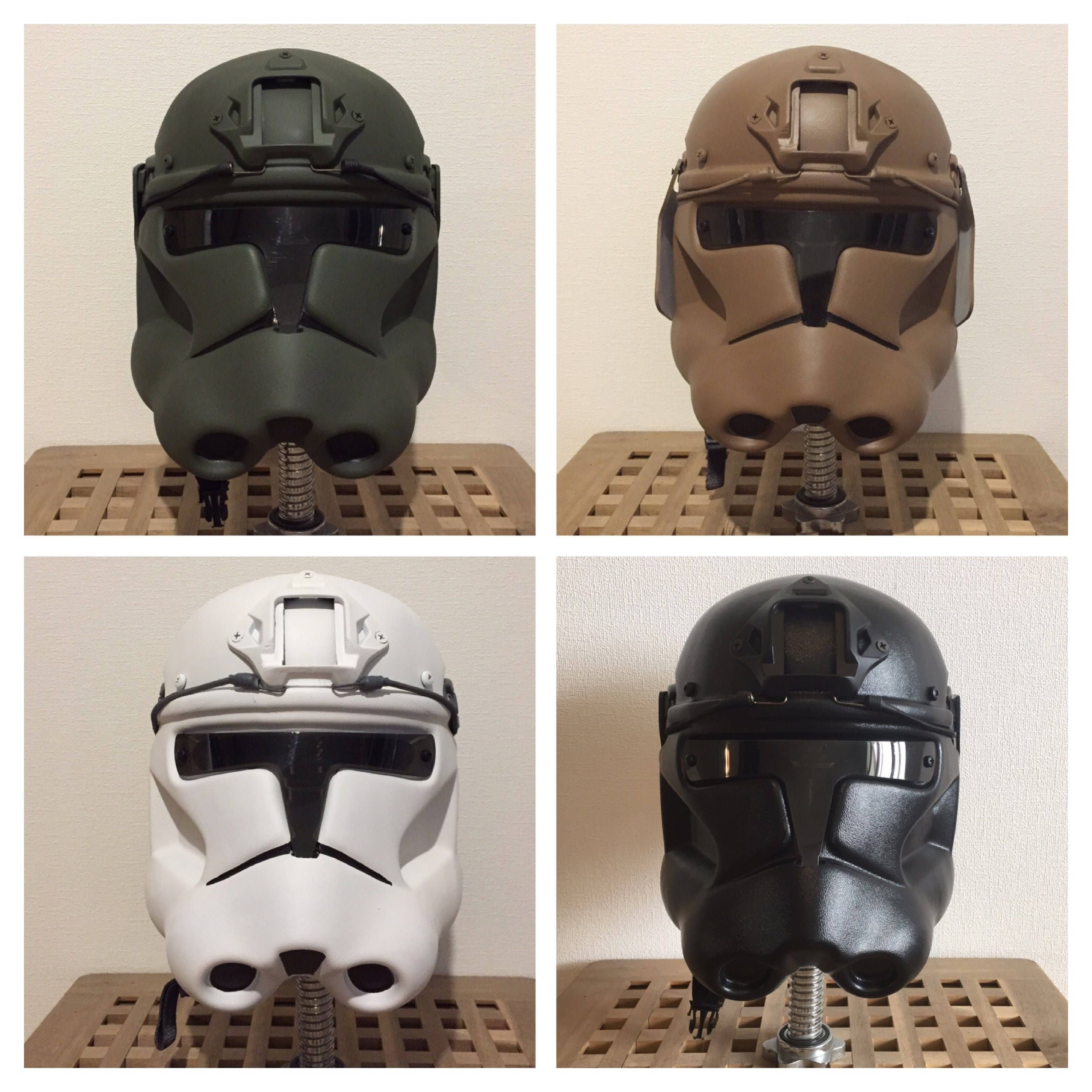 Clonetrooper Phase 2 Airsoft Paintball Helmet