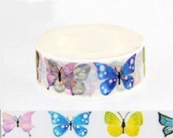Masking tape washi tape butterflies