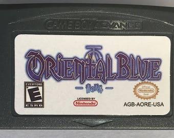 Oriental Blue Ao no Tengai RPG English fan translation GBA