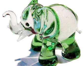 Fabulous glass figurine - elephant