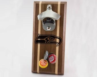 Seattle Seahawks Magnetic Bottle Opener
